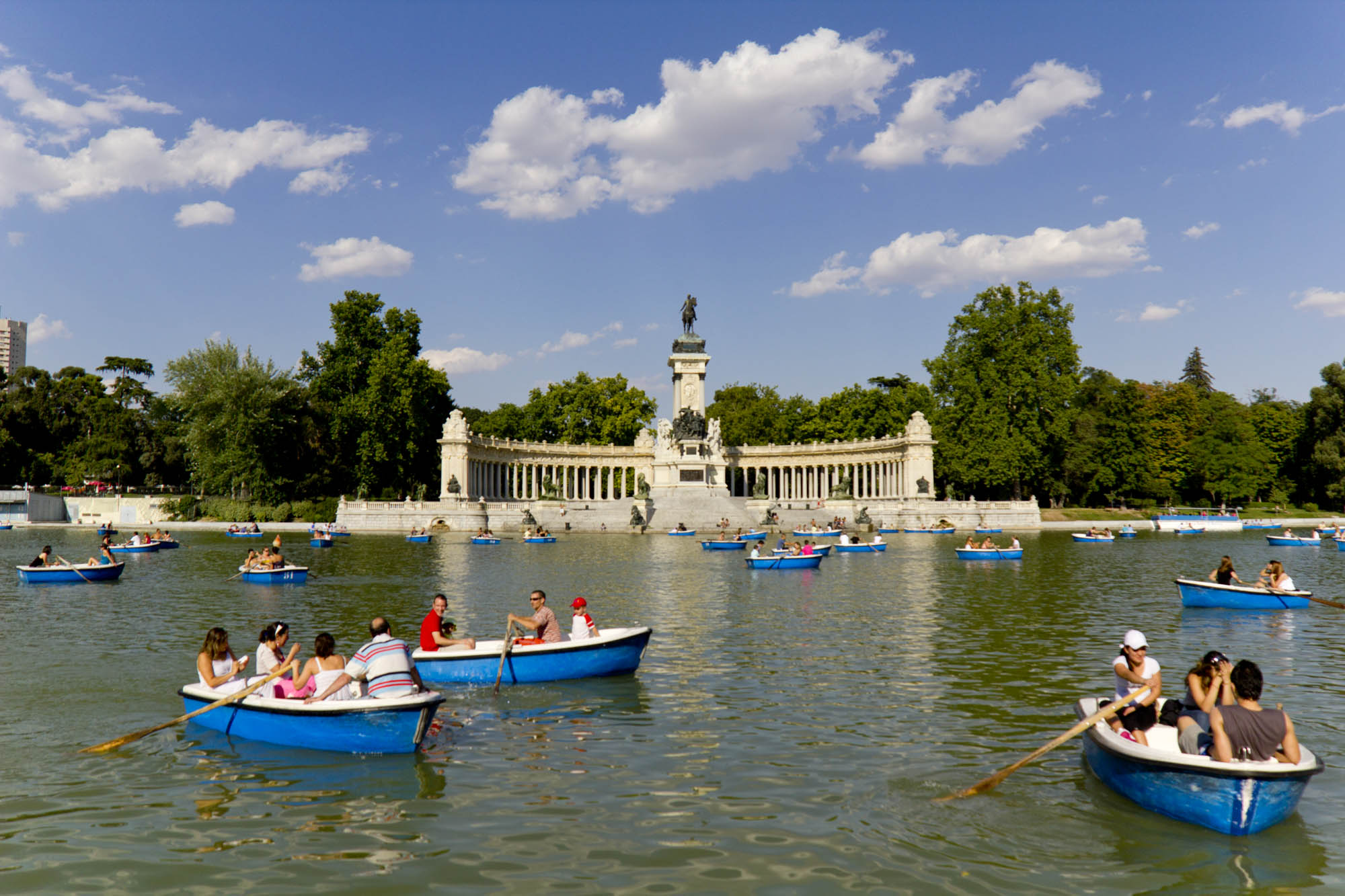 Setembro 2014 direct play for Parque del retiro madrid